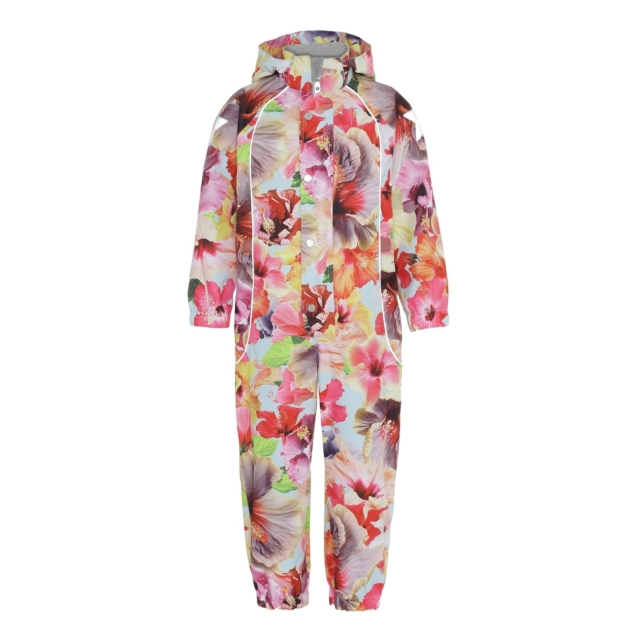 Molo Kids  Polly Hibiscus Dream Overall